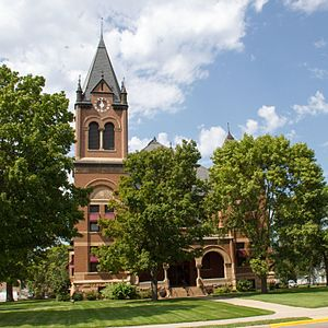 Swift County Courthouse, Benson
