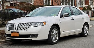 Lincoln MKZ - 2012 Lincoln MKZ Hybrid
