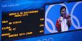 2012 Summer Olympics Women's Springboard Victory Ceremony 4.jpg
