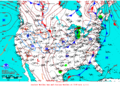 2013-04-25 Surface Weather Map NOAA.png