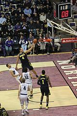 20130103 Mitch McGary shot clock-game clock (1).JPG