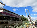 2013 09 26 Retaining Wall Progress South of Harvard Street Bridge looking West (14405618015).jpg