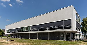 Fritz Bornemann - Building of the University Library in Bonn