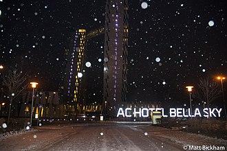 AC Hotel Bella Sky Copenhagen - Image: 20141228 MAT 1406