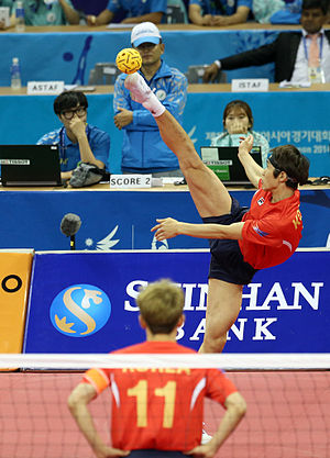 Sepak takraw at the 2014 Asian Games - Image: 2014 Asian Games 3