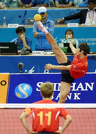 Sepak takraw at the 2014 Asian Games - South Korea team
