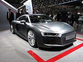 Audi r8 v10 ii pr 233 sent 233 au salon international de l automobile de
