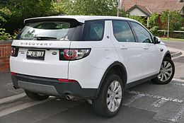 Land Rover Discovery Sport Wikipedia