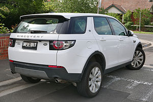 Land Rover Discovery Sport - Land Rover Discovery Sport SD4 SE wagon