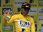 2015 Tour of Britain - General Classification 1st place Edvald Boasson Hagen.JPG