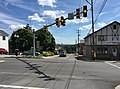 2016-06-18 15 46 40 View south along Maryland State Route 936 (Grant Street) at U.S. Route 40 Alternate and Maryland State Route 36 (Main Street) in Frostburg, Allegany County, Maryland.jpg