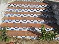2017-10-25 Outdoor tile staircase, Urbanização Jacarandá, Albufeira.JPG