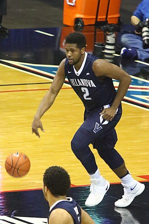Kris Jenkins (basketball) - Jenkins for the 2016–17 Villanova Wildcats