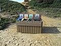 2018-01-07 Re-cycle litter bins, Praia Maria Luisa, Albufeira.JPG