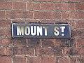 2018-04-29 Street name sign, Mount street, Cromer (1).JPG