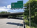 2019-05-27 15 34 21 View west along the outer loop of the Capital Beltway (Interstate 495) at Exit 30 (U.S. Route 29 South-Colesville Road South, Silver Spring) on the edge of Silver Spring and Four Corners in Montgomery County, Maryland.jpg