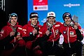 20190224 Medal Ceremony Men's Team HS130 Team Austria 850 3433.jpg
