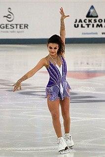 Sofia Samodurova Russian figure skater