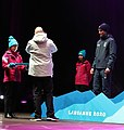 2020-01-13 Ski Mountaineering at the 2020 Winter Youth Olympics – Men's Sprint – Medal ceremony (Martin Rulsch) 25.jpg