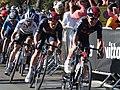 2021 ToB stage 2 - 024 Michał Kwiatkowski 021 Ethan Hayter 012 Julian Alaphilipe in Exeter.jpg