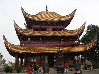 Yueyang Tower tower in Yueyang, Hunan Province, China