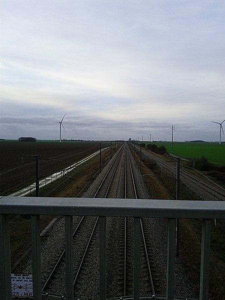 Ligne de Brétigny à La Membrolle-sur-Choisille, 28150 Boisville-la-Saint-Père, Eure-et-Loir (France).
