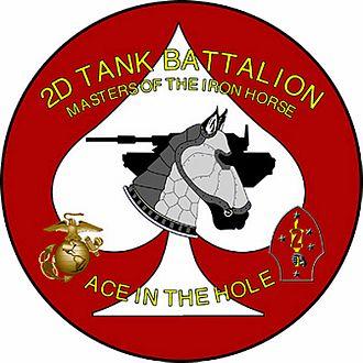 2nd Tank Battalion - 2nd Tanks Insignia