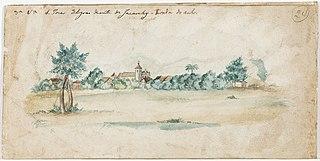 3ª vista S. Jose 3 legoas diante de Jacarehy - tirada do sul (atribuído)