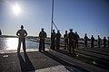 31st MEU Marines man the rails aboard the USS Bonhomme Richard (LHD-6) 150625-M-CX588-055.jpg