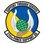 374 Force Support Sq emblem.png