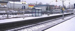 39 Avenue station (Calgary) - Image: 39 Avenue (C Train) 3