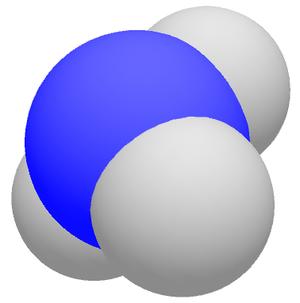 Van der Waals surface - Image: 3D ammoniac