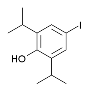 4-Iodopropofol - Image: 4 iodopropofol