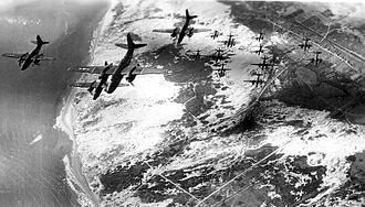410th Air Expeditionary Wing - Formation of A-20 Havocs of the 410th Bombardment Group