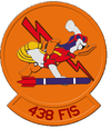 438th Fighter-Interceptor Squadron - Emblem