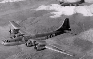 46th Reconnaissance Squadron - B-29s of the 46th RS over the Arctic, 1946
