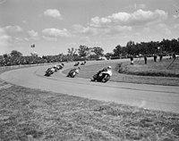 500cc. Mike Hailwood, met nr. 1, de latere winnaar, Bestanddeelnr 917-9071.jpg
