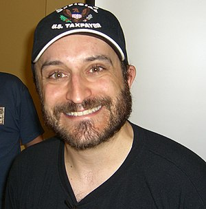 Wayne Grayson - Vinnie Penna following a panel on voice acting at the Big Apple Convention in Manhattan, New York on June 8, 2008.
