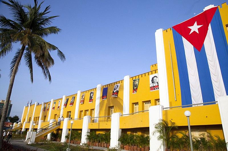 El cuartel Moncada, hoy Ciudad Escolar 26 de Julio.