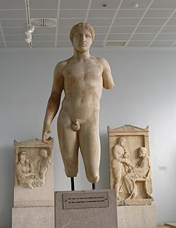 7517 - Piraeus Arch. Museum, Athens - Young athlete - Photo by Giovanni Dall'Orto, Nov 14 2009.jpg