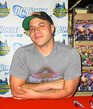 Geoff Johns - Johns in August 2011