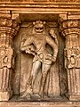 8th century Durga Surya temple standing Narasimha avatar of Vishnu, Aihole Hindu temples monuments.jpg