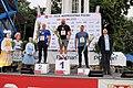 97 PZLA Mistrzostwa Polski Poznań 2021 podium pchnięcie kulą 5603.jpg