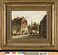 A. Eversen - Gezicht op een Nederlandse stad - NK2047 - Cultural Heritage Agency of the Netherlands Art Collection.jpg