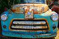 A291, Cawker City, Kansas, USA, rusty Dodge, 2008.JPG