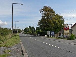 A4226 road - Image: A4226 near Weycock Cross