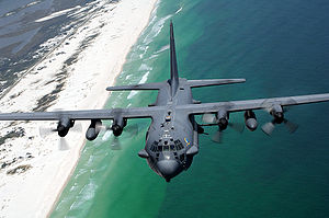 AC-130H flies along Northwest Florida coast.jpg