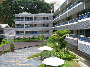 Building of ACS (International), one of the newest international schools.
