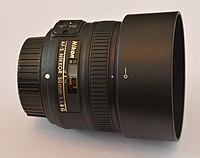 AF-S Nikkor 50mm f1.8 G lateral.JPG