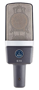 AKG C214 Condenser microphone.jpg